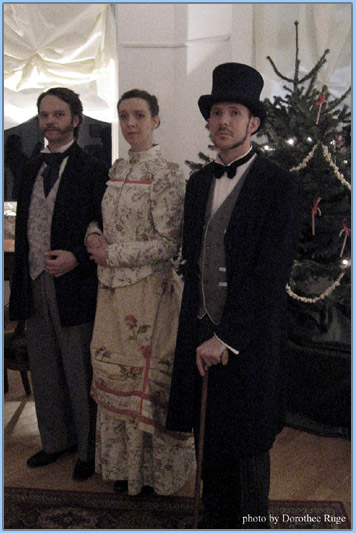 The Victorian Parlour Games theatrical event costume photo 1